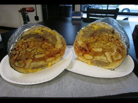 "20,000 Calorie Challenge ""Big Fat Ugly"" MEGA Sandwich - Food Challenge"