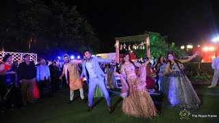 Best Engagement Entry-Bride and Groom I Shrey & Urvashi I The Royal Frame