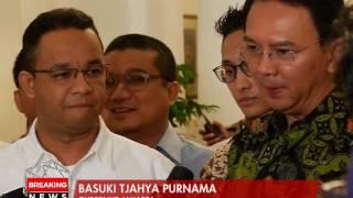 Pertemuan Ahok dan Anies di Balai Kota, Untuk Wujudkan Kartu Jakarta Lansia - Breaking News 20/04