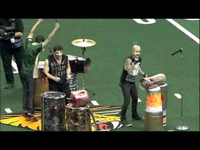 Street Drum Corps' Half Time Show 2012