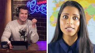REBUTTAL: Superwoman's Ironically Racist 'Geography for Racist People' | Louder With Crowder