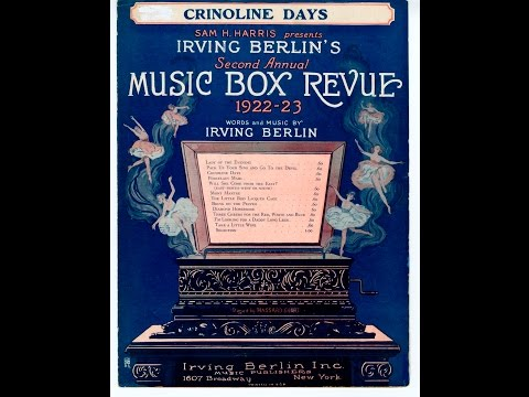 Irving Berlin - Crinoline Days