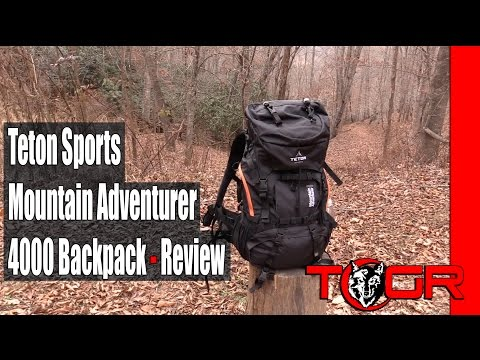 Teton Sports Mountain Adventurer 4000 Backpack - Review