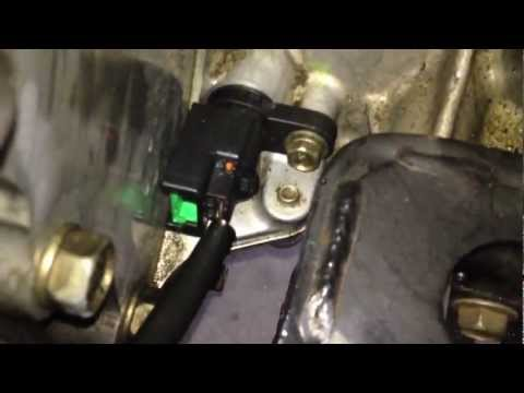 DIY Crankshaft Positioning Sensor Replacement - Nissan - Error Code P0725 / P0335 / P0340