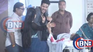 Yeh Hai Mohabbatein  Raman Accident  On Location Shoot   14 August 2015