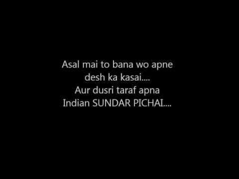 Eminem's Rap god Indian Parody (In Hindi)
