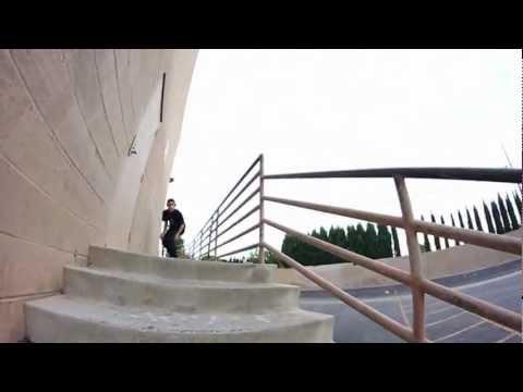 Micky Papa - Handrail Flip in Warm Ups