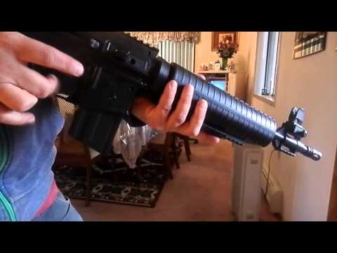 Crosman M4-177 Pellet/BB Rifle Review