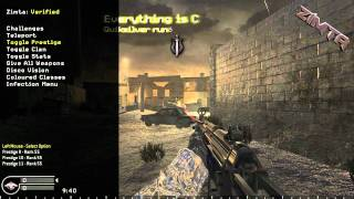 COD4 Quiksilvers Mod Menu Xbox and PC Download