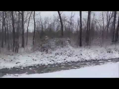 Country drive Spring Snow Storm Northeast Wisconsin April 14, 2014 by Angela Gruis