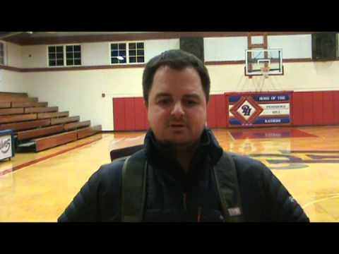 Post Game Interview with Bishop Seabury Academy Head Coach Ashley Battles