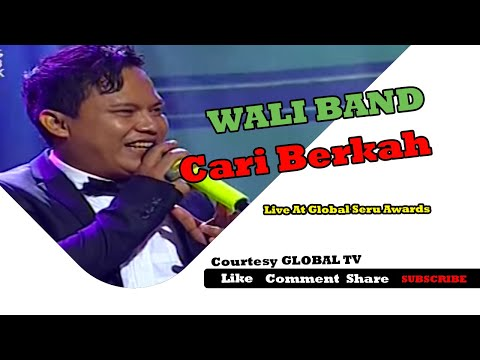 WALI BAND [Cari Berkah] Live At Global Seru Awards 2015 (15-04-2015) Courtesy GLOBAL TV