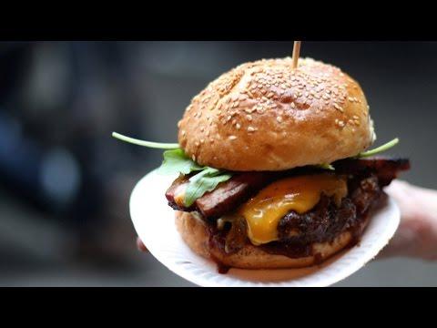 Highsnobiety Visits   Burgers & Hip Hop