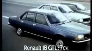 1979 renault 18 commercial