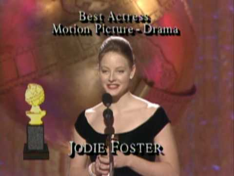 Jodie Foster, Sigourney Weaver & Shirley Maclaine Win Actress Motion Picture - Golden Globes 1989