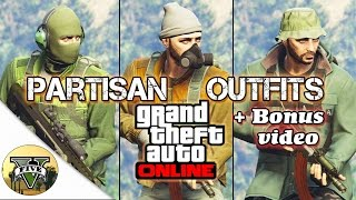 GTA Online | Partisan Outfits + Bonus Cinematic video