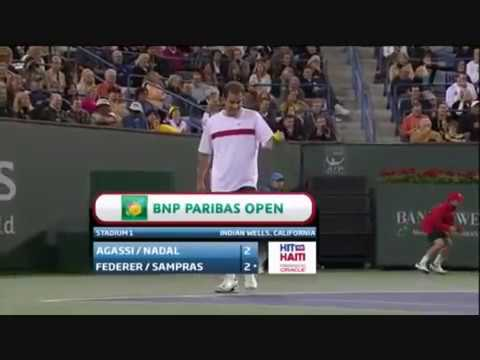 Hit for Haiti - Federer wants Agassi to Serve at 113 mph , Agassi serves 114 mph
