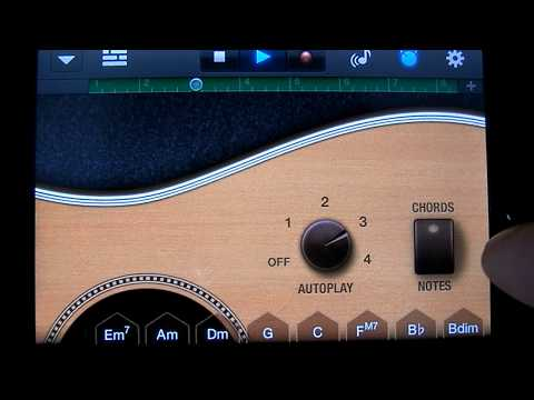 GarageBand Tutorial Part 3 Smart Guitar. Changing Chords