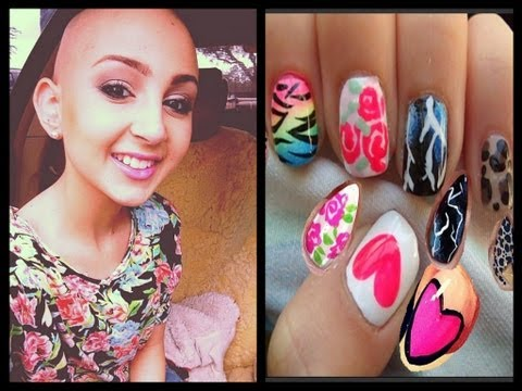 ♡Talia Castellano (TaliaJoy18) Inspired Nails R.I.P.♡