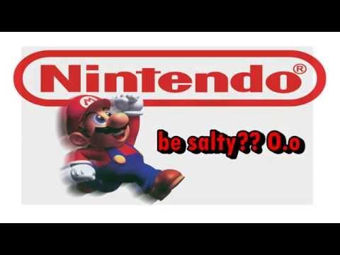 #BeSalty Nintendo says,