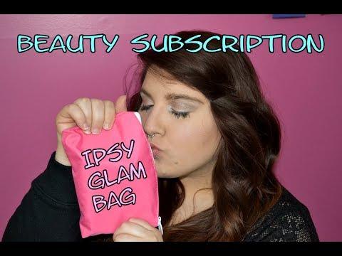 Beauty Subscription February 2014 Ipsy Glam Bag