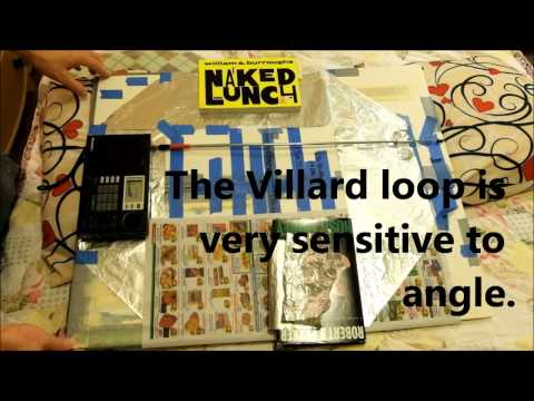 Villard noise cancelling shortwave antenna loop demo - Don't quit SWL over excessive static