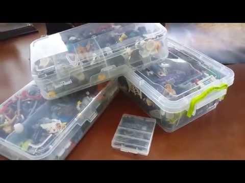 Мои кейсы для хранения деталей Лего (обзор)