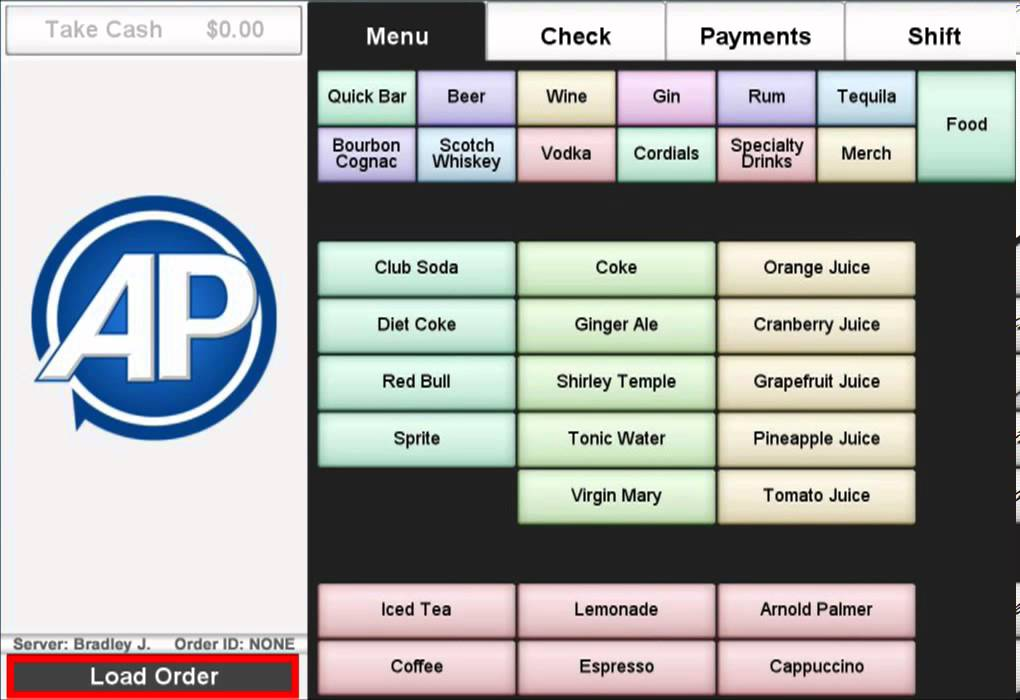 Pos System For Bars By Accupos Youtube