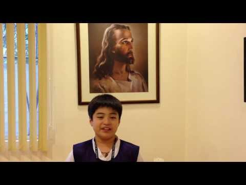 Everest Academy Manila student council secretary appeals for continued support - 11/13/2013