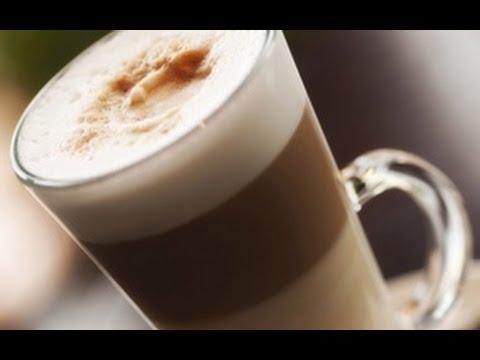 Как приготовить кофе латте - видео