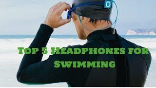 Best headphones for swimming- Top 5 Waterproof headphones
