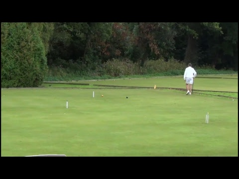 English National Singles Championship Golf Croquet Final