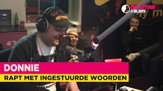 Donnie freestyled er op los! | Bij Igmar