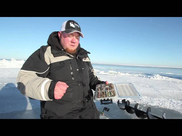 Ice Fishing - Mille Lacs Slot Walleyes