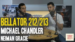 Bellator beat UFC to the Hawaii Card, Neiman Gracie, Michael Chandler - The Combat Society Show #5
