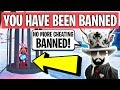 GETTING BANNED FOR CHEATING IN ROBLOX JAILBREAK mp3