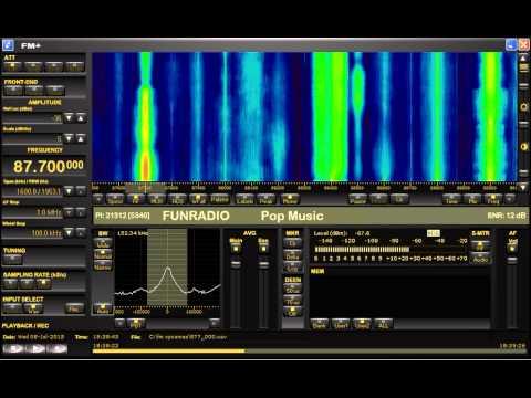 FM DX sporadic E in Holland: Slovakia Fun Radio Kosice 1224km