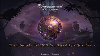 The International 2019: Southeast Asia Qualifier (Mineski VS Team Jinesbrus)