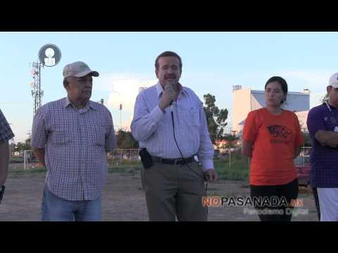 Anuncia Silva Vela 28 MDP para el deporte en Navojoa
