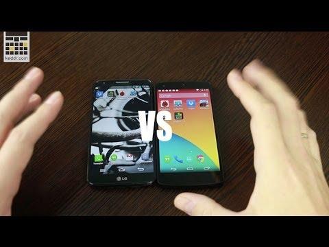 LG Nexus 5 vs LG G2: производительность и дисплеи - Keddr.com