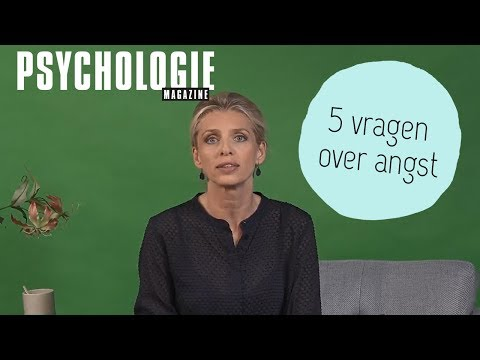 5 vragen over ANGST | Psychologie Magazine