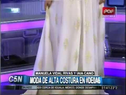 C5N - MODA DE ALTA COSTURA EN #DE0A6