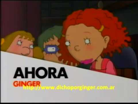 Anuncios as told by Ginger en nickelodeon