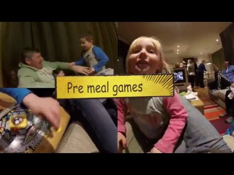 Center Parcs - Family Holiday 2016, Part 4 (Family meal)