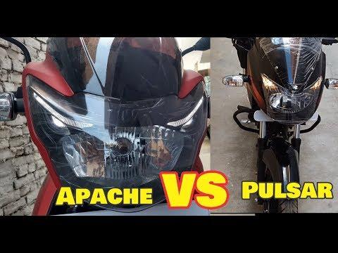 2018 Apache RTR 160 vs New Pulsar 150 DTSI Compare with Price mileage etc