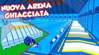 SCONTRO nella NUOVA arena ghiacciata di Fortnite!