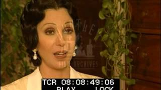 Cher is Interviewed About Filming Tea with Mussolini (1999)