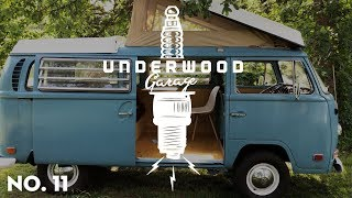 Interior! 1970 VW Bus Restoration | Underwood Garage 11