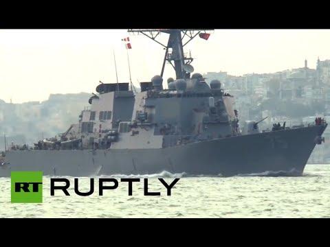 US destroyer Donald Cook enters Black Sea amid Ukraine tension