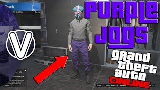 GTA 5 Online | How To Obtain The Purple Joggers 1.43 *WORKING* (GTA 5 Online Glitches)